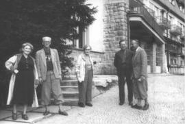 Leopold Pachner s přáteli